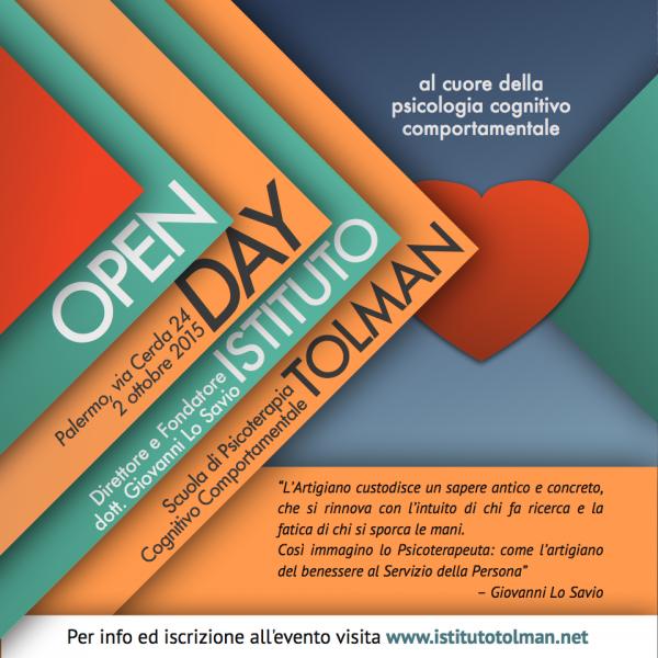 Open Day Scuola di Psicologia Cognitivo Comportamentale a Palermo