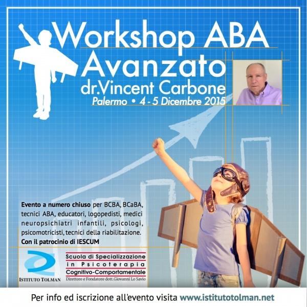 Workshop Analisi Comportamentale Applicata dr. Vincent Carbone a Palermo