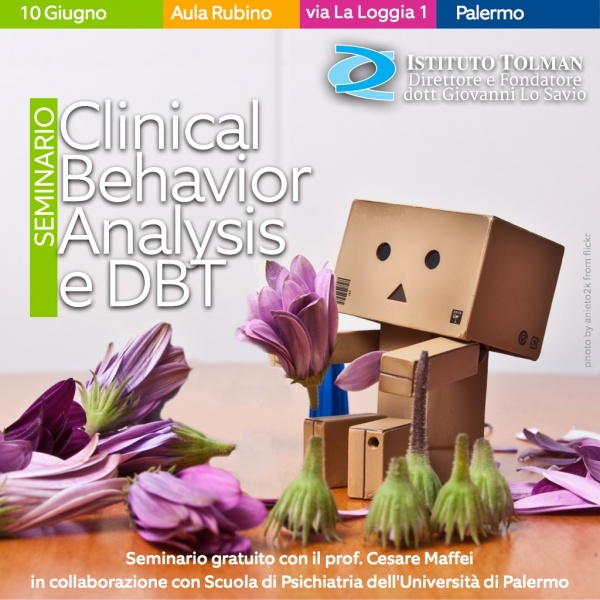 Seminario Clinical Behavior Analysis e Dialectical Behavior Therapy