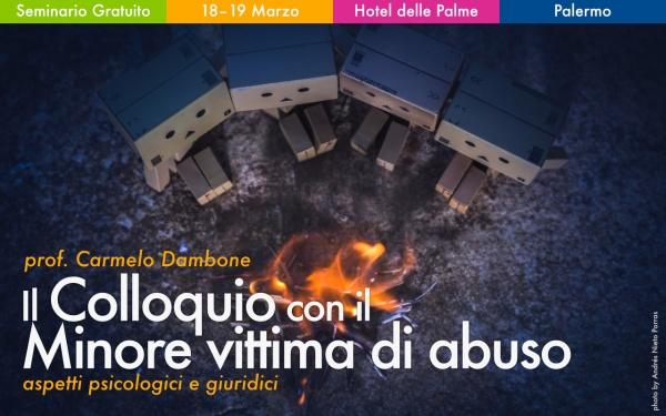 Seminario colloquio minore vittima abuso - Carmelo Dambone