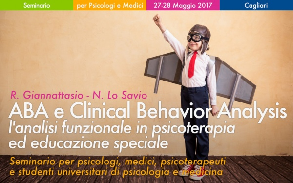 Seminario ABA e Clinica Behavior Analysis a Cagliari Giannattasio Lo Savio