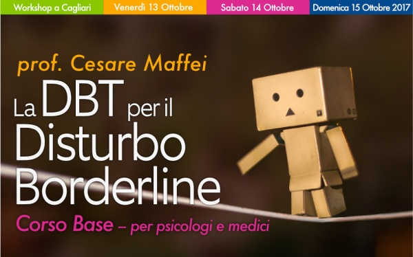Workshop DBT e Disturbo Borderline a Cagliari