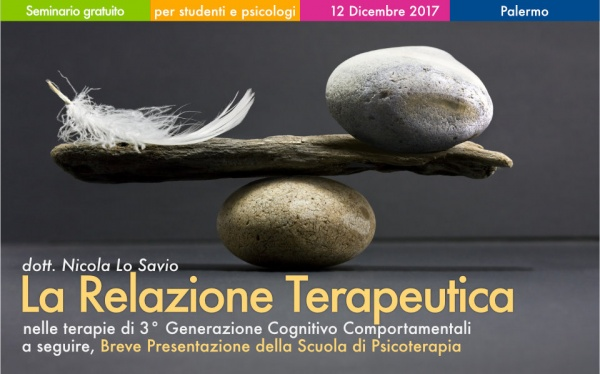 Seminario La Relazione Terapeutica a Palermo