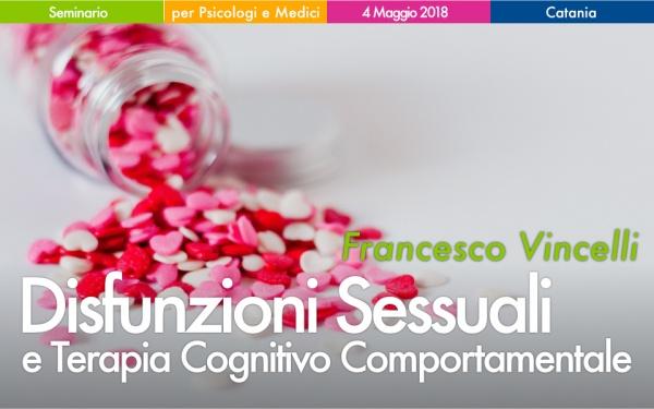 Seminario Disfunzioni Sessuali e CBT a Catania