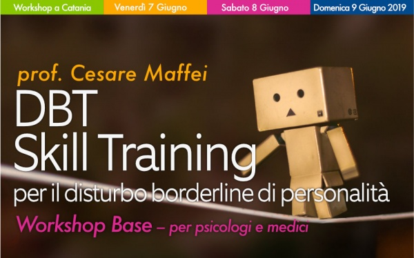Workshop DBT Skill Training per il disturbo borderline di personalità