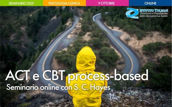 Seminario ACT e CBT process-based con S. Hayes