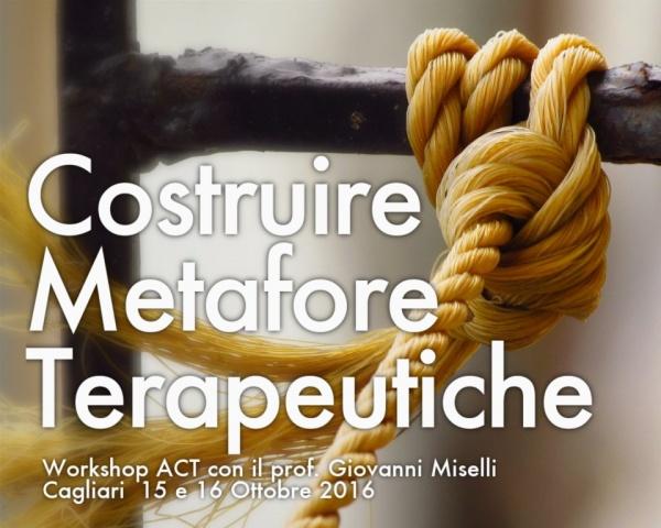 Costruire Metafore Terapeutiche -  Workshop ACT RFT