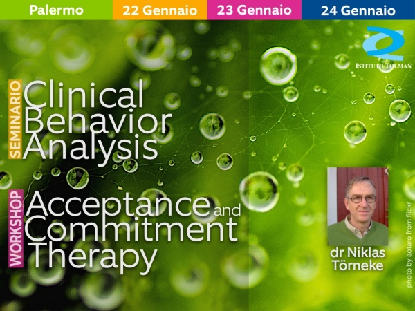 Seminario Clinical Behavior Analysis e Workshop Acceptance and Commitment Therapy a Palermo