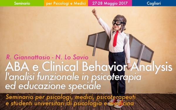 Seminario ABA e Clinica Behavior Analysis a Cagliari Giannattasio Lo Savio