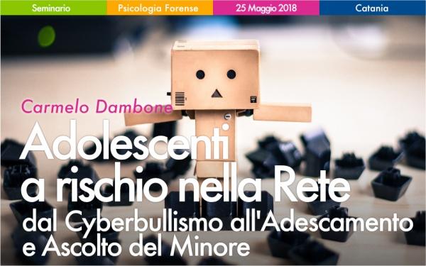 Seminario Adolescenti a Rischio nella Rete a Catania